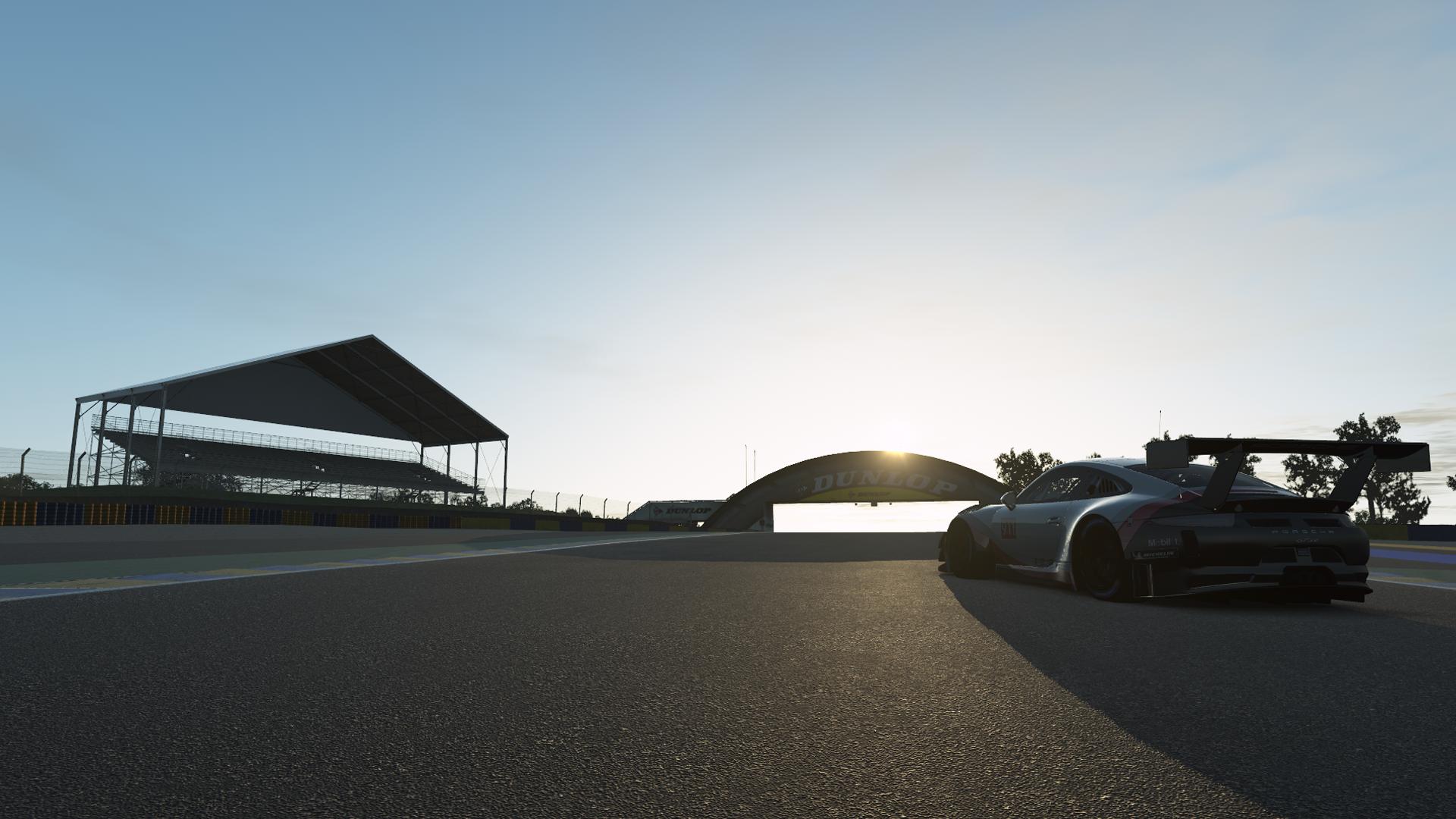 rFactor2. Анонсирован выпуск трассы Le Mans 24H