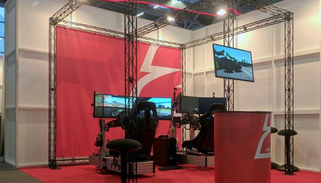 Meet us at the SimRacing Expo!