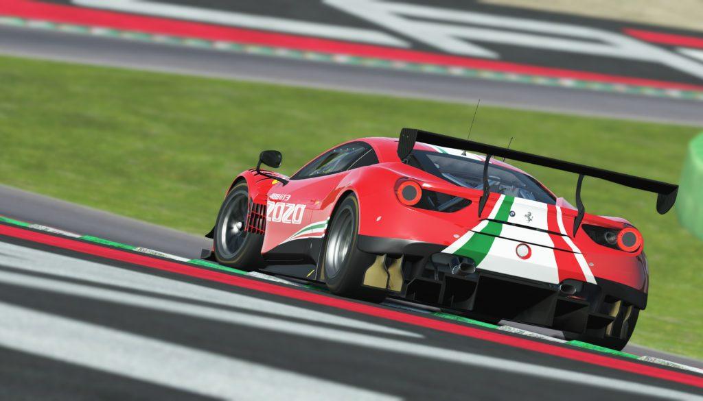 Ferrari 488 GT3 EVO 2020 Release