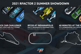 rF2 Summer Showdown | 3 Special Adventures, 3 Great Racing Events