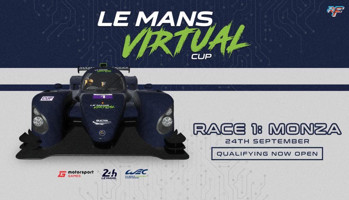 Announcing Le Mans Virtual Cup | Competition Now Open